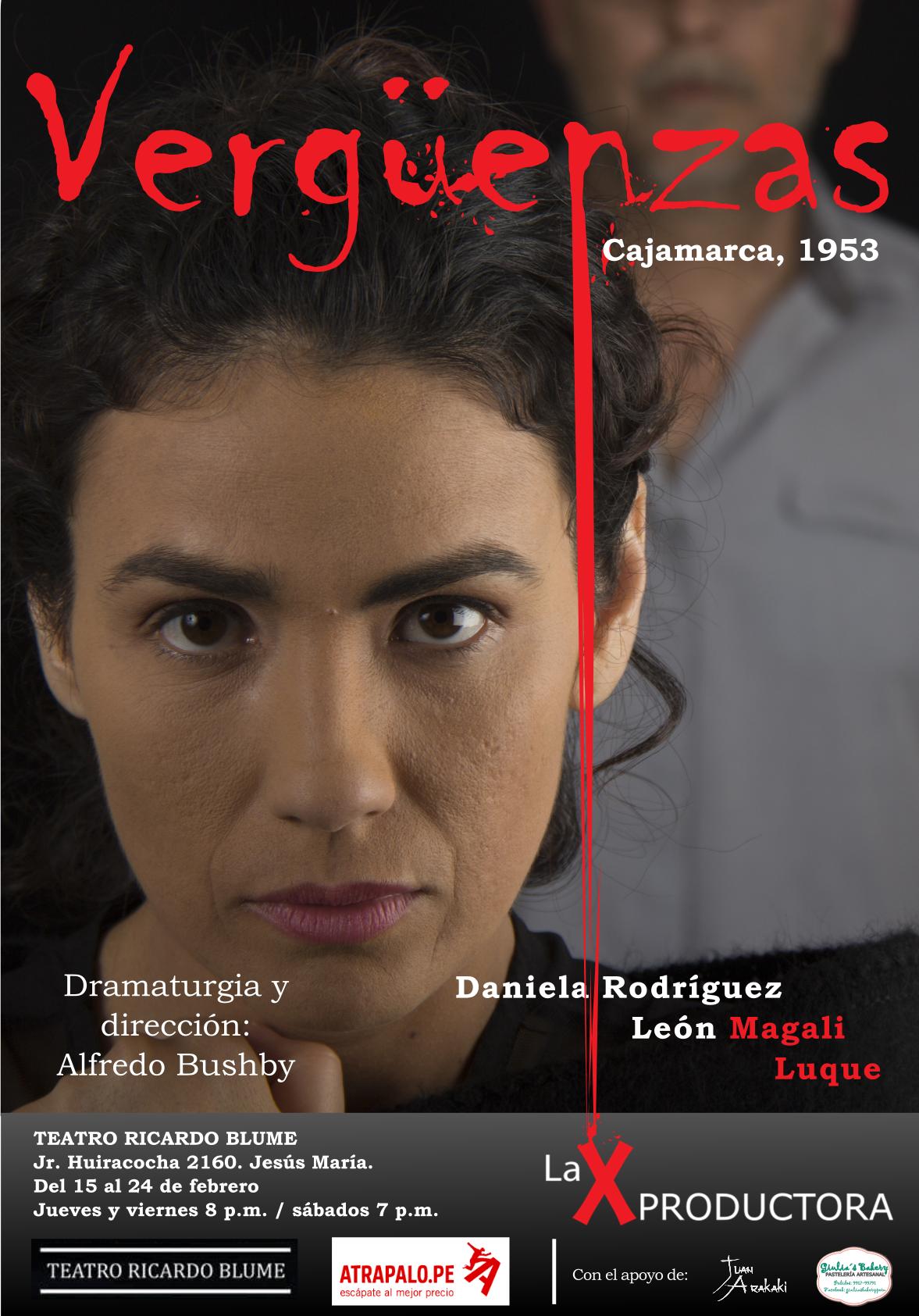 Afiche de Vergüenzas: Cajamarca, 1953