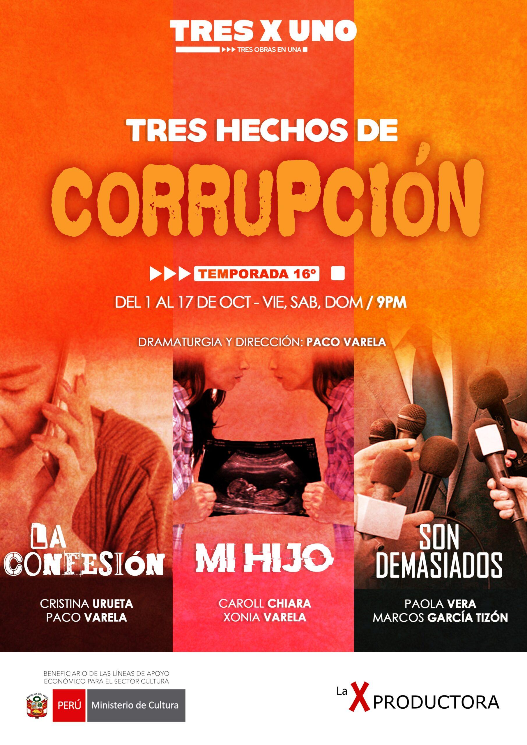 Tres Hechos De Corrupción
