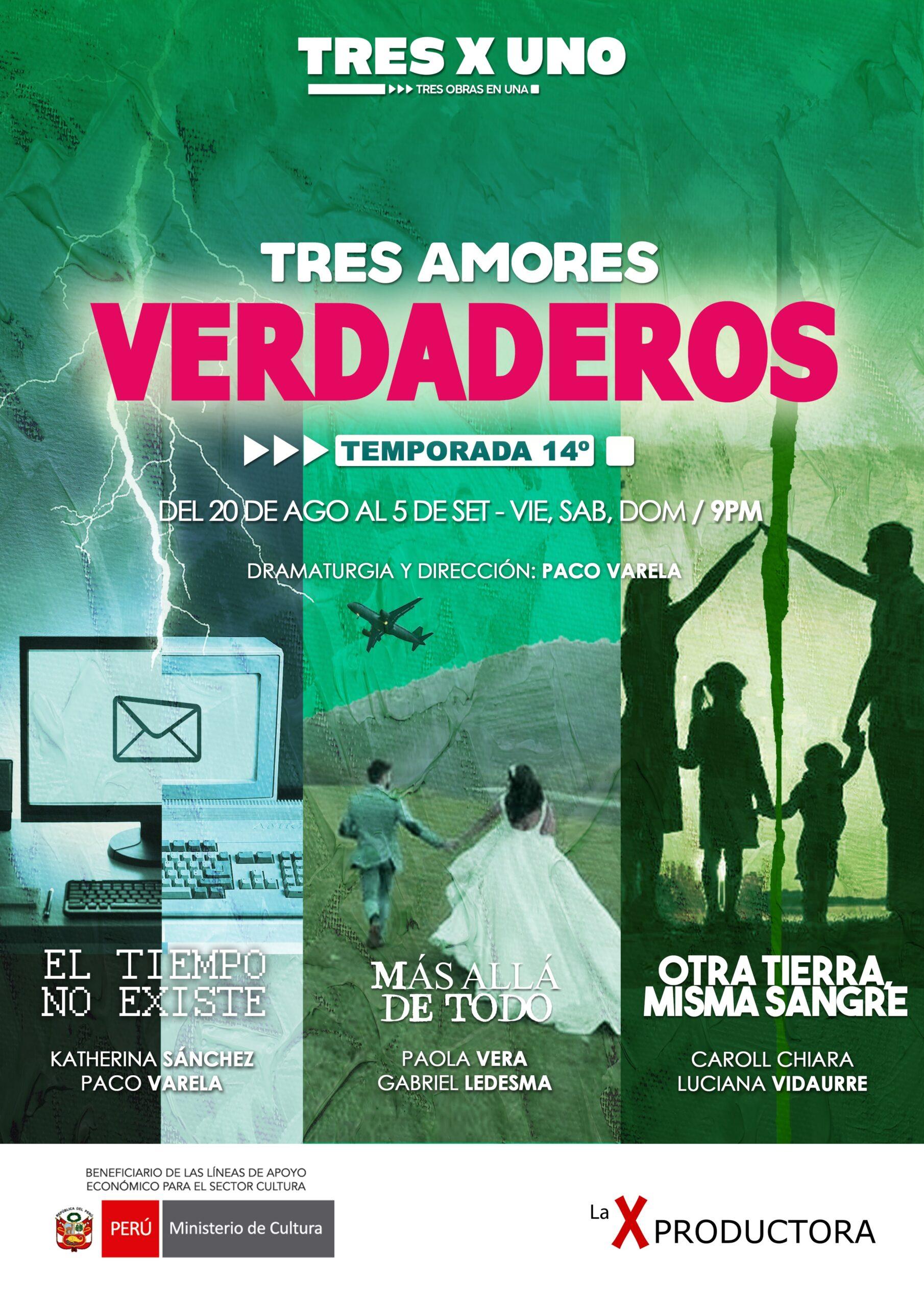 TRES AMORES VERDADEROS D0509-2100