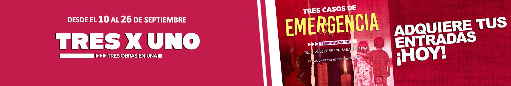 Banner Tres casos de emergencia
